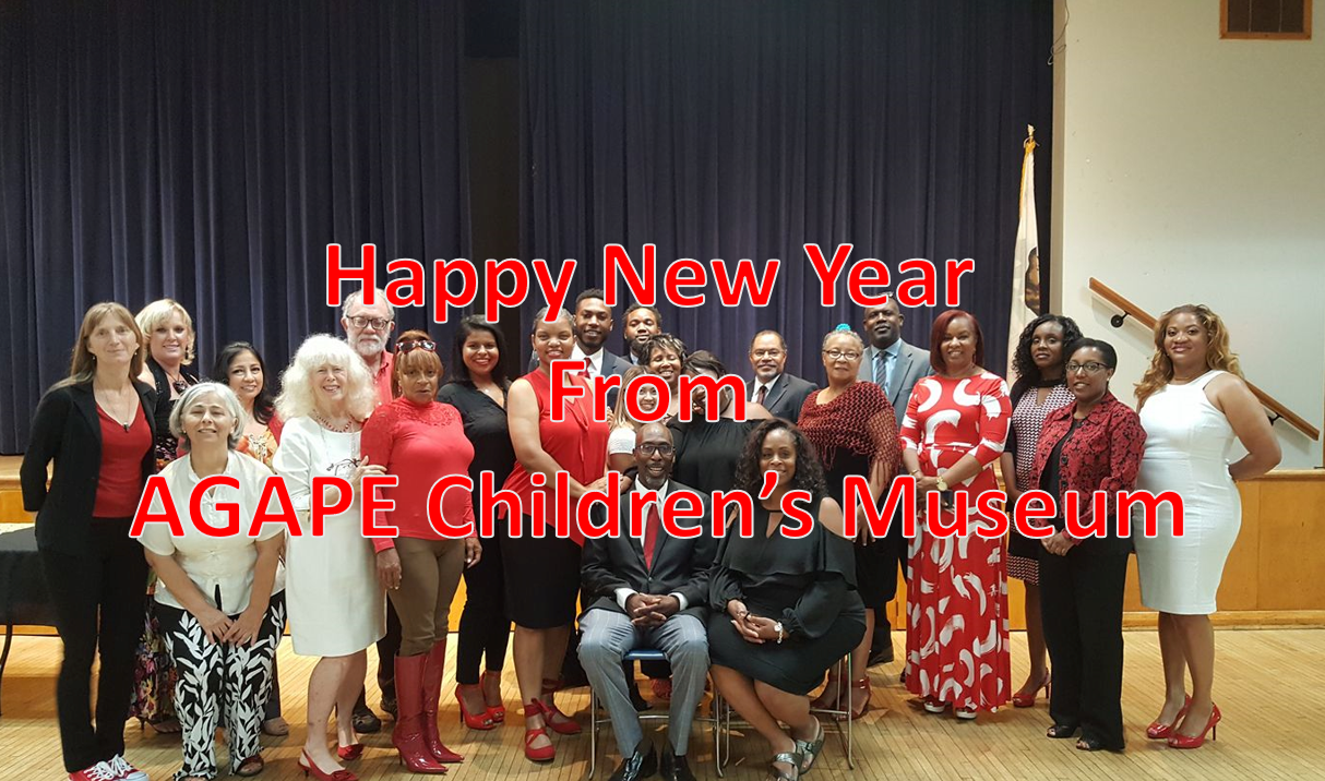 HAPPY NEW YEAR FROM AGAPE CHILDREN'S MUSEUM